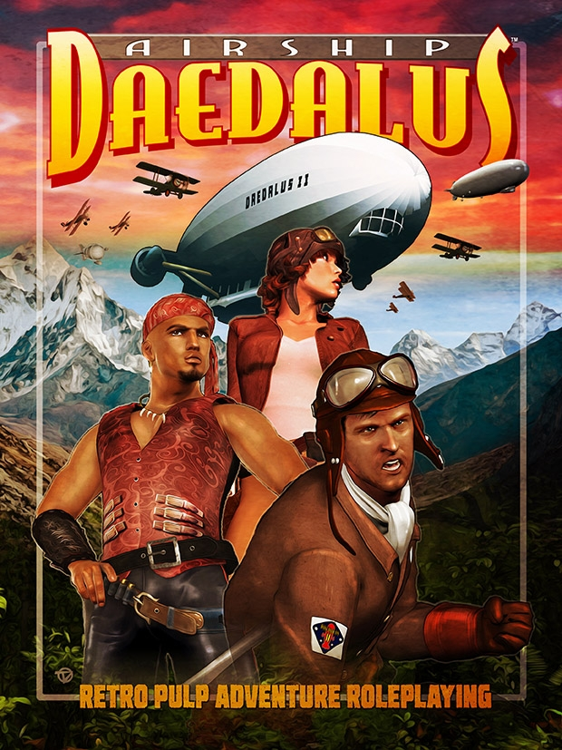 Airship Daedalus RPG cover