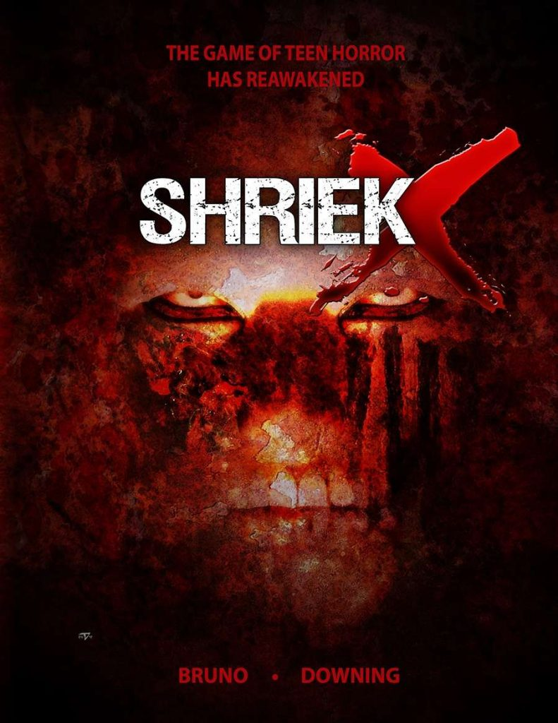 Shriek X cover